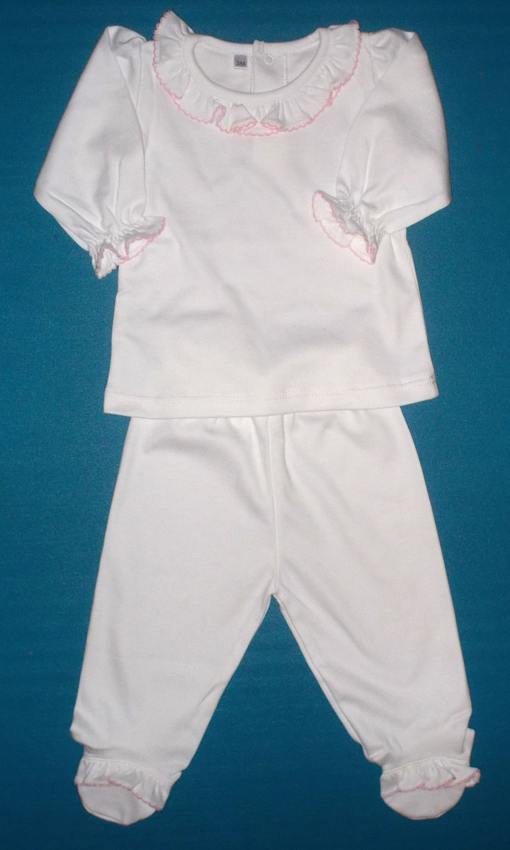 Plain Baby Clothes For Embroidery Rldm